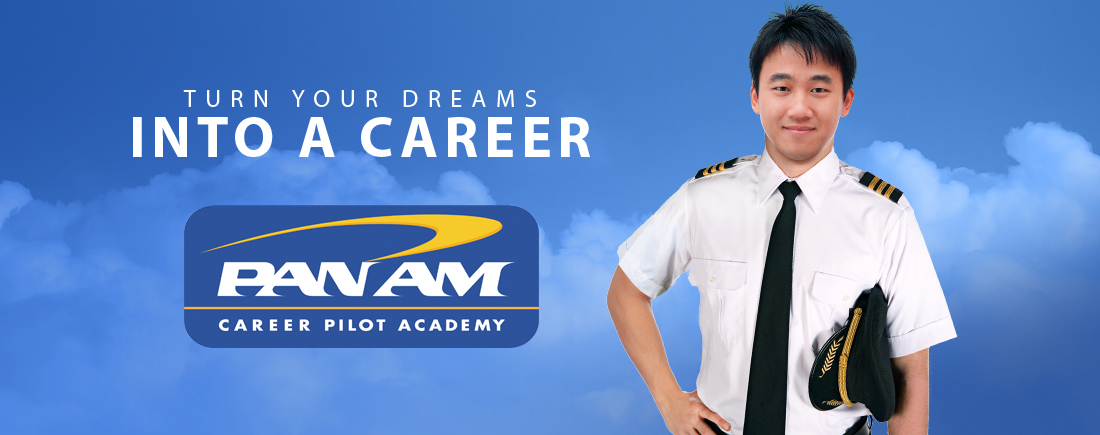 Pilot training at career at Pan Am Career Pilot Academy.