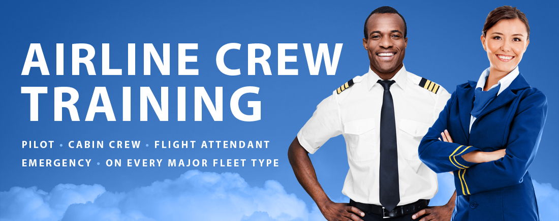 Airline Crew Training - Cabin Crew - Air Traffic Control - Maintenance - Dispatch.